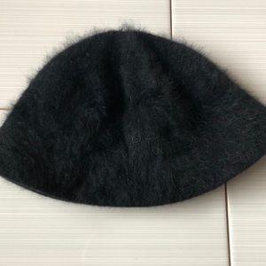 bebe Angora Bucket Hat